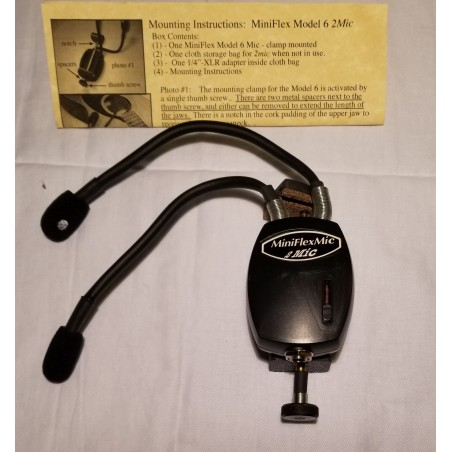 MiniFlex2Mic Soundhole Microphone - model 6