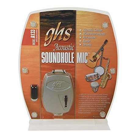 SOUNDHOLE MIC 133 w/ VOLUME CONTROL (external mount)